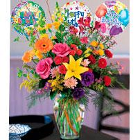 Birthday Flowers - Uruguay